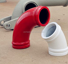 The Greaves twin wall dn150*R500 concrete pump spare parts /accessories elbow / bend with ZX ends