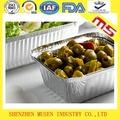 Papel de la FDA de aluminio para envolver envase de alimento / comida
