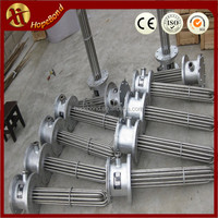 Stainless Steel Immersion Flanged Heater Tubular