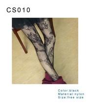 2015 wholesale high quality custom socks Spring New arrival cute sexy tight Silk women silk stocking print rose