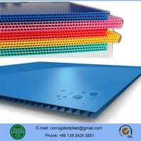 Packing/Printing/Protection Polypropylene Double Layer Plastic Sheets