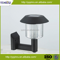 Outside solar powered wall lamp,outdoor wall light,plastic LED wall lamp