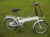 internal battery electric folding bike