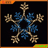 110-230V outdoor LED motif light / IP64 snowflake motif light / waterproof snowflake Motif