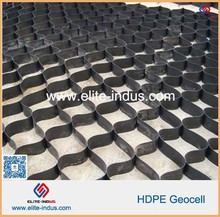 50mm height Textured HDPE Geocell HDPE Textured Geocell for road construction