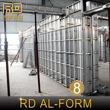 RD control building shuttering for aluminium formwork