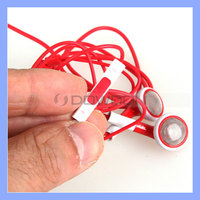 For Apple Earphones Red for iPhone 5 4 4S