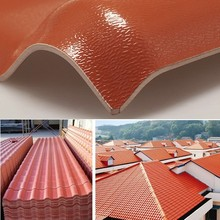heat resistant asa coated synthetic resin roofing sheets
