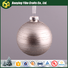 New arts and crafts New arrival Custom christmas tree ball ornaments bulk