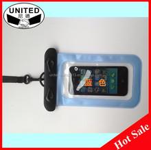 Wholesale universal swimming diving traveling mobile phone pvc waterproof case
