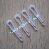 Chinese Opaque Alligator Plastic Garment Fastener Clips for Shirts