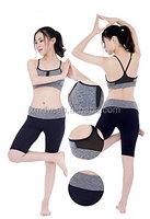 IYOGA Brand Workout Mesh Sexy Crop Top Women