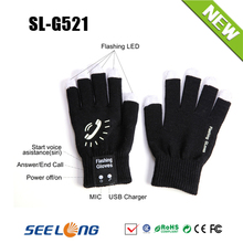 New Flashing Bluetooth Talking Gloves For All Smart Phone