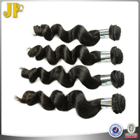 High Temperature Steam Loose Curl Raw Malaysian Remy Human Hair Weave