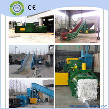 2015 new model famous brand automatic horizontal waster paper baler machine