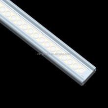 New Design Modular 27w 600mm 100lm/w led linear shopping mall lights with lens beam angle 60D PMMA cover