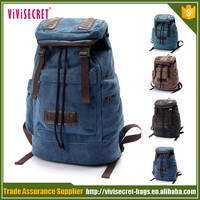Casual Style Canvas Laptop Backpack/School Bag/Travel Daypack Unisex