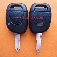 Renault 1 button remote key blank for 2001 to 2004 model (No battery place)