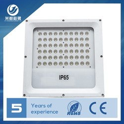 Tunnel Mounted IP66 Meanwell&MOSO Driver 120W Led Gas Station Light