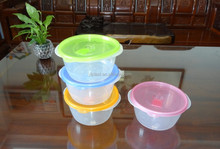 1600ml plastic round food storage container / food storage box, microwavable