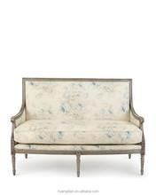retro antique sofa ethiopian furniture floral design sofa furniture