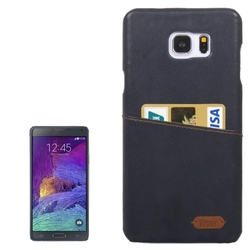 Leather Paste Skin Hard Shell Plastic Case for Samsung Galaxy Note 5 Case