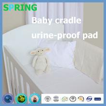 American Baby Company Jersey Knit Crib Sheet, White Bamboo Viscose