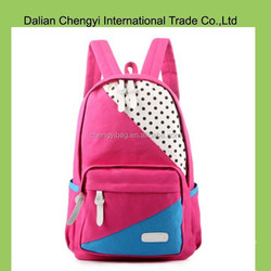 High Quality New Design OEM Fashion canvas Backpack