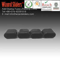 square/round plastic leg tips/feet to protect floor/reduce slip and vibration 28mm*15mm
