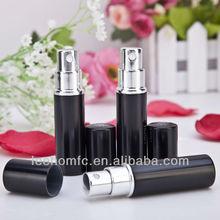 Refillable 5ml black bottle mens perfume