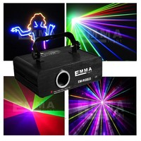 ILDA Laser 600Mw RGB full color Animation with SD Outdoor LOGO Laser Show Projector