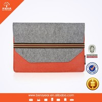 Fashionable Felt Fabric Tablet Case For Macbook Air 11.6 inch