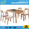 ChineseAsh solid wood dining Room table and chairs for dinner