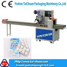 automático de fluxo de equipamentos de embalagem de doce de leite