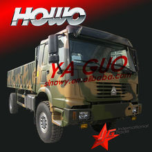 4x4 all wheel drive military cargo truck at lowest price