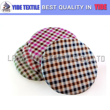 Comfy Check patterns rounded cushion