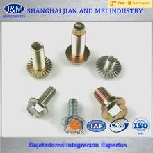 perno flange hexagonal m12 galvanizado grado 10.9
