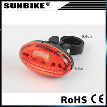 2015 high quality hot sale factory direct sale battery power light for bike