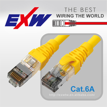 GOOD PERFORMANCE CAT6A S/FTP PATCH CORD WITH FLUKE COMPONENT TEST