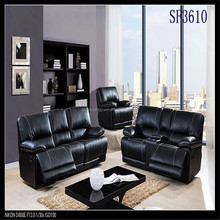 American style leather recliner sofa furniture