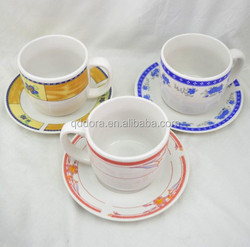 12pcs porcelain coffee set, 320cc coffee cup tea set , chile market 320cc cup with saucer