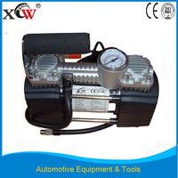 12V portable car tire inflator pump mini air compressor with double cylinders