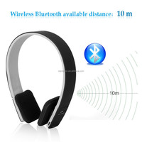 2015 BLUETOOTH .AEC Noise Reduction Bluetooth Headphones Headset with MIC for iPhone 5 5S for Ipad for Tablet PC