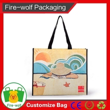 2015 Bopp Wholesales Azo Free Eco-Friendly China Pp Woven Bag