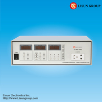 LSP-500VAR AC/AC Power Supply which maximum output power 500W and can communicate with computer.