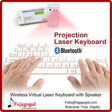bluetooth speaker function mobile wireless laser projection keyboard for Android