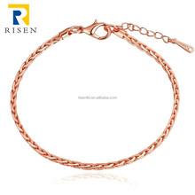 top sale alibaba lobster clasps rose gold extends bracelet GPB096