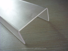 Polycarbonate frosted bending sheet for machine guard