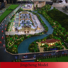 commercial building scale model for exhibition