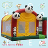 PVC 0.55mm inflatable water slide combo,inflatable jumping bounce house,kids inflatable bouncer castle for sale